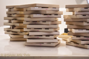 Wrapped Wooden boxes - Scatole in legno fasciate